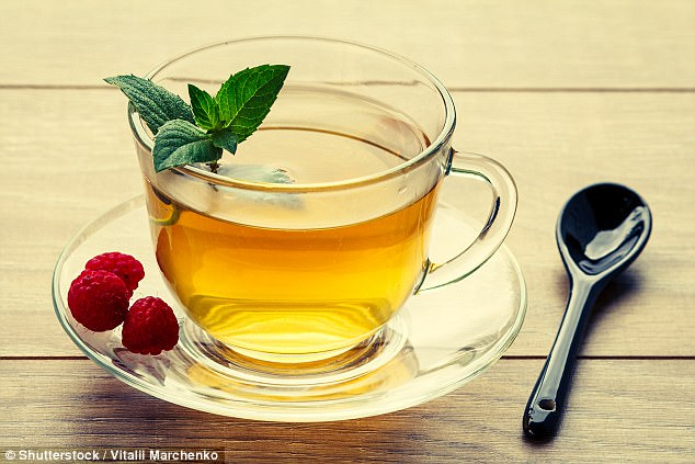 healthy teeth Diet- Green tea